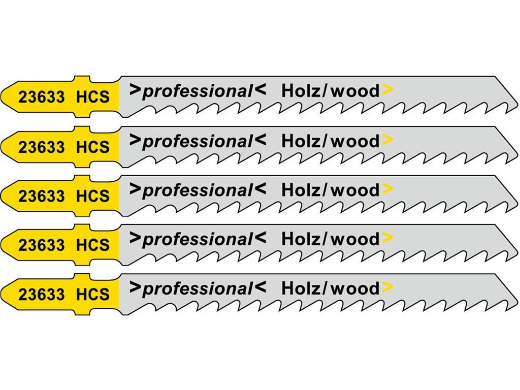 Пилка Metabo T144D HCS для дерева 5шт 623633000