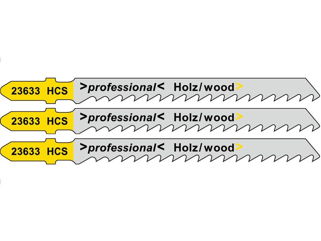 Пилка Metabo T144D HCS для дерева 3шт 623964000