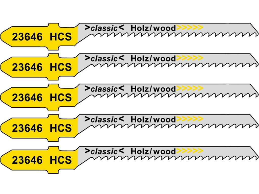 Пилка Metabo T119BO HCS для дерева 5шт 623646000