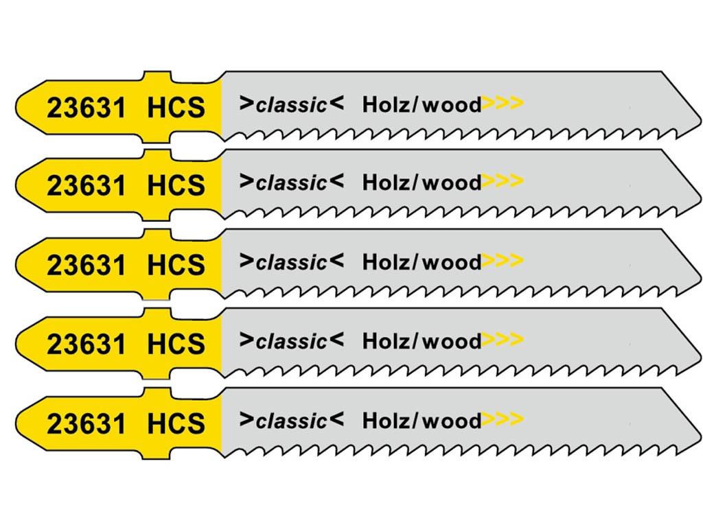 Пилка Metabo T119B HCS для дерева 5шт 623631000