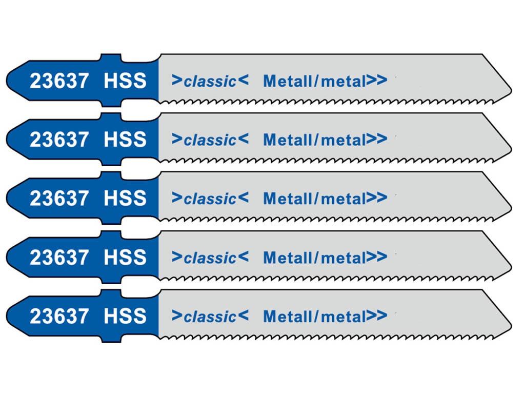 Пилка Metabo T118A HSS по стали/цветному металлу 5шт 623637000