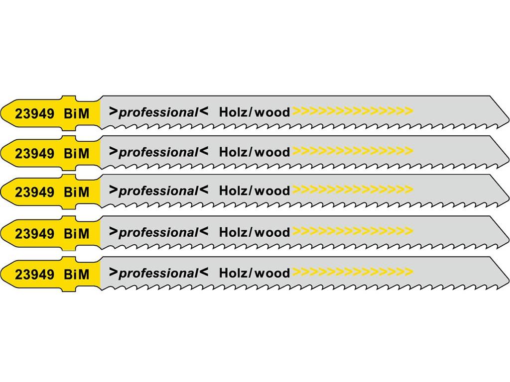 Пилка Metabo T111HF BiM для дерева/пластика/цветного металла 5шт 623949000
