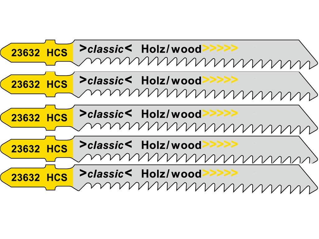 Пилка Metabo T111C HCS для дерева 5шт 623632000