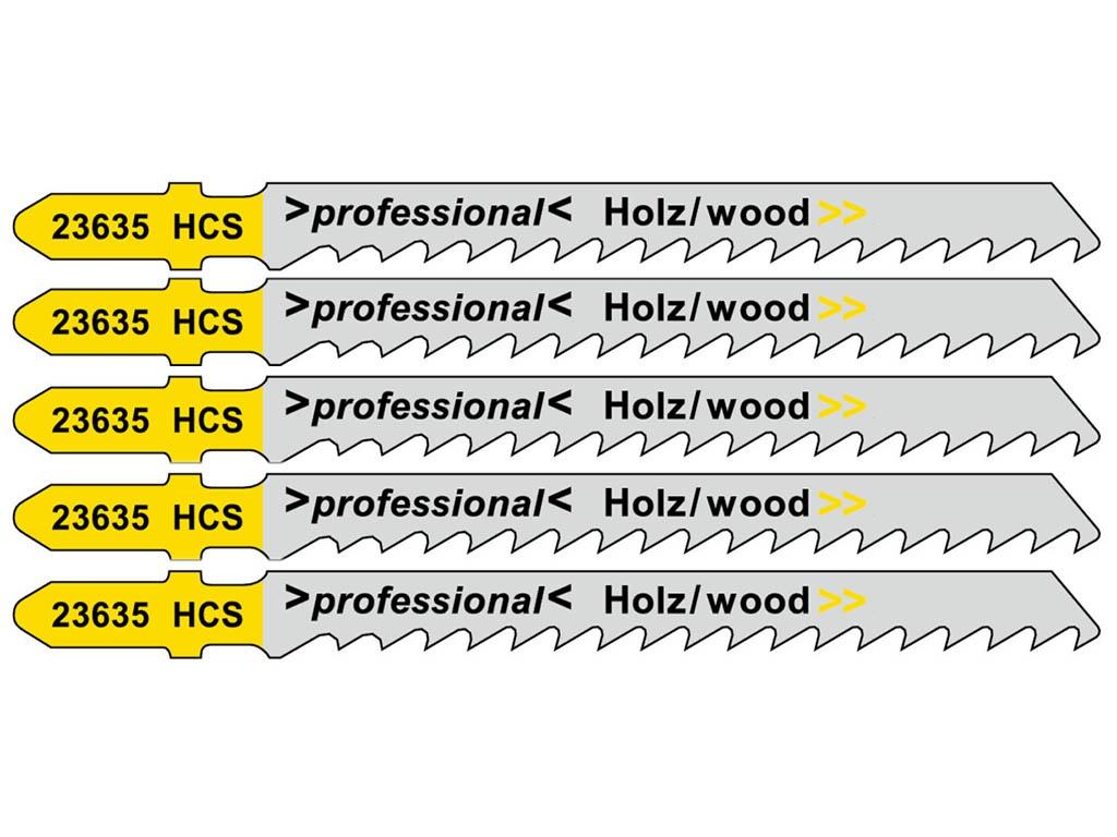 Пилка Metabo T101D HCS для дерева 5шт 623635000
