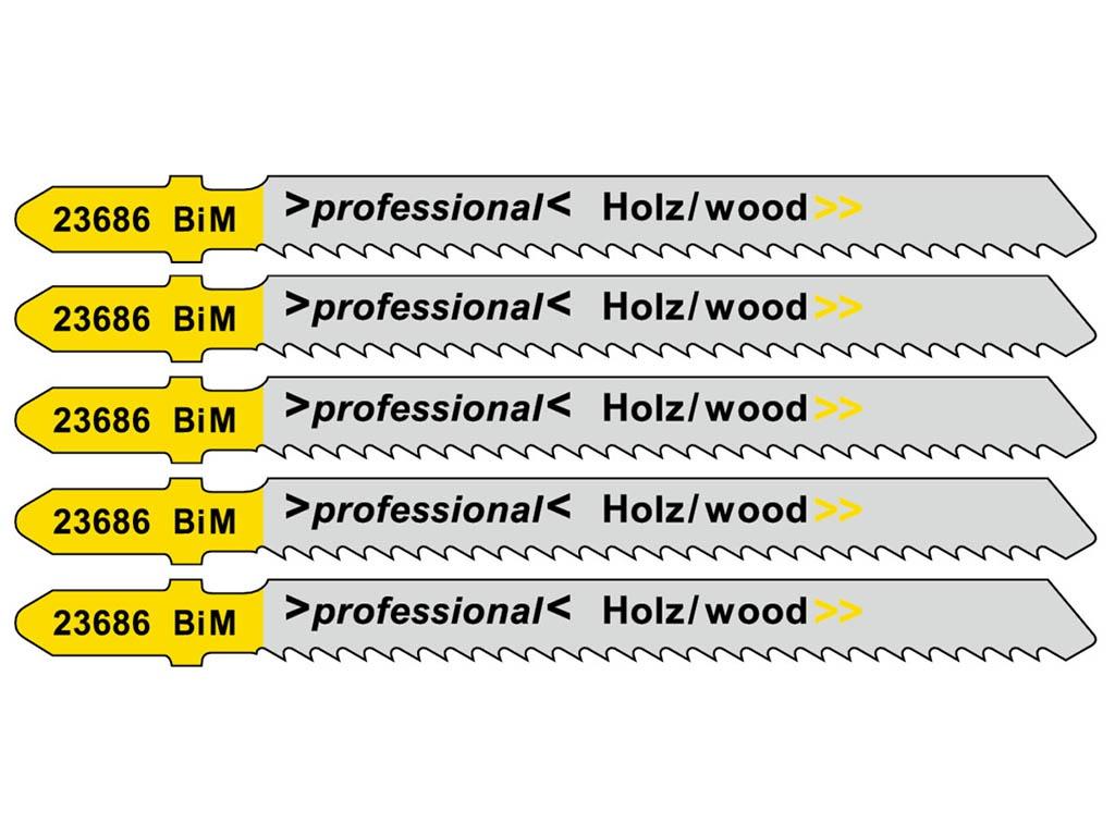 Пилка Metabo T101BRF BIM для дерева 5шт 623686000