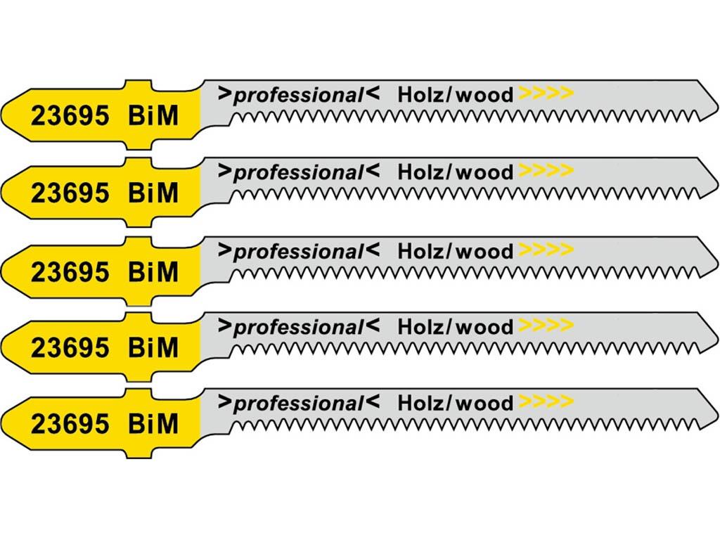 Пилка Metabo T101AOF BiM для дерева 5шт 623695000