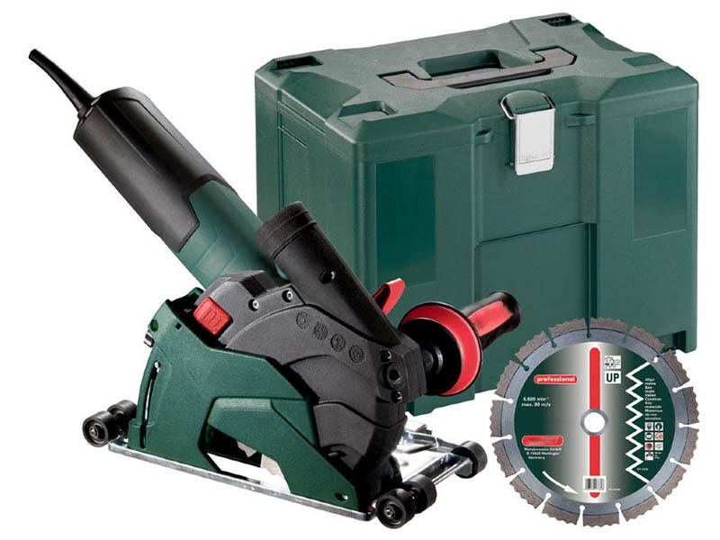 Шлифовальная машина Metabo W 12-125 HD Set CED Plus