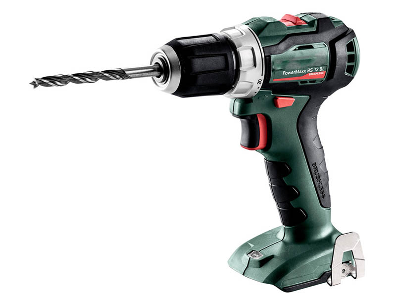 Электроинструмент Metabo PowerMaxx BS 12 BL 0 MetaLoc фонарь metabo powermaxx sla led 600369000