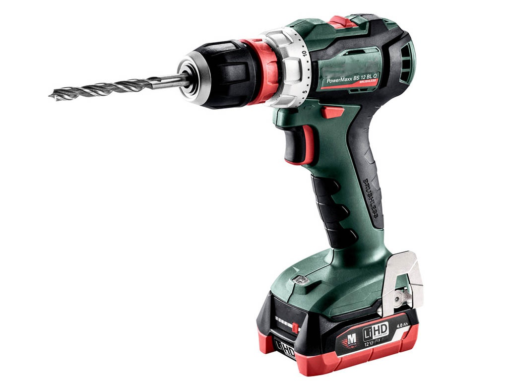 Электроинструмент Metabo PowerMaxx BS 12 BL Q 4.0Ач х2 LiHD кейс