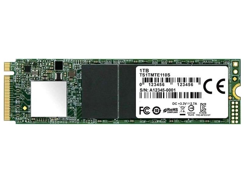 Жесткий диск Transcend MTE110 1Tb TS1TMTE110S