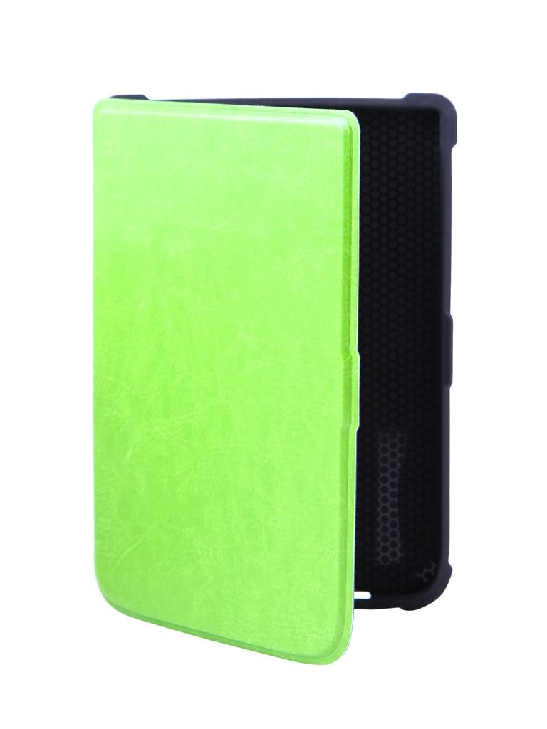 Аксессуар Чехол BookCase для PocketBook 616/627/632 Green BC-632-GR