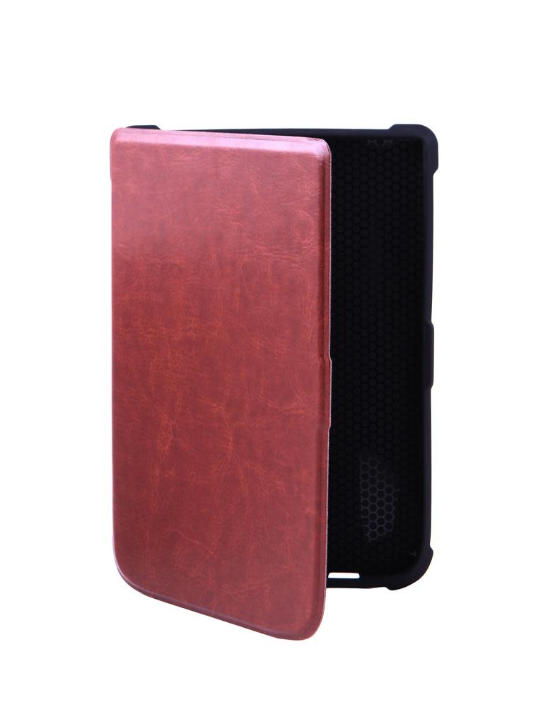 Аксессуар Чехол BookCase для PocketBook 616/627/632 Brown BC-632-BR