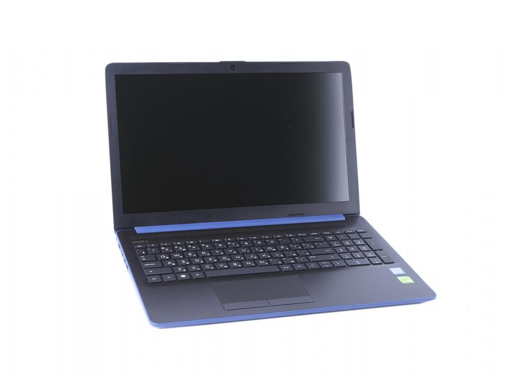 Ноутбук HP 15-da0172ur 4MK29EA (Intel Core i5-8250U 1.6 GHz/4096Mb/1000Gb/No ODD/nVidia GeForce MX110 2048Mb/Wi-Fi/Bluetooth/Cam/15.6/1920x1080/Windows 10)