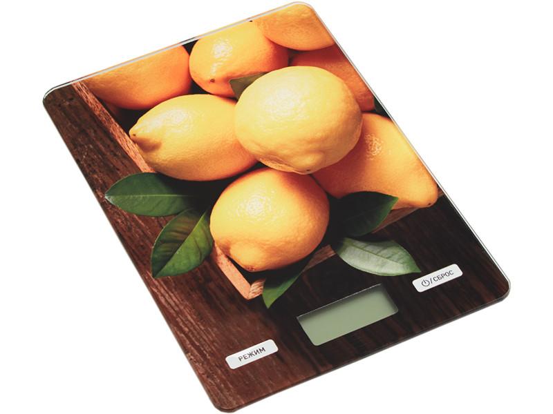 Весы Аксинья КС-6514 Лимоны
