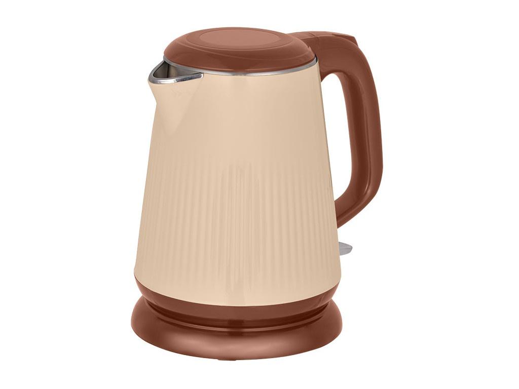 Чайник Аксинья КС-1030 Beige-Brown