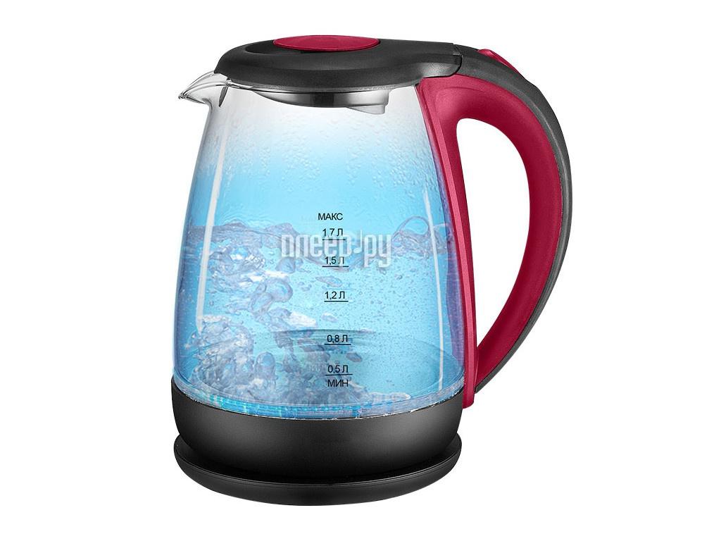 Чайник Аксинья КС-1040 Red-Black