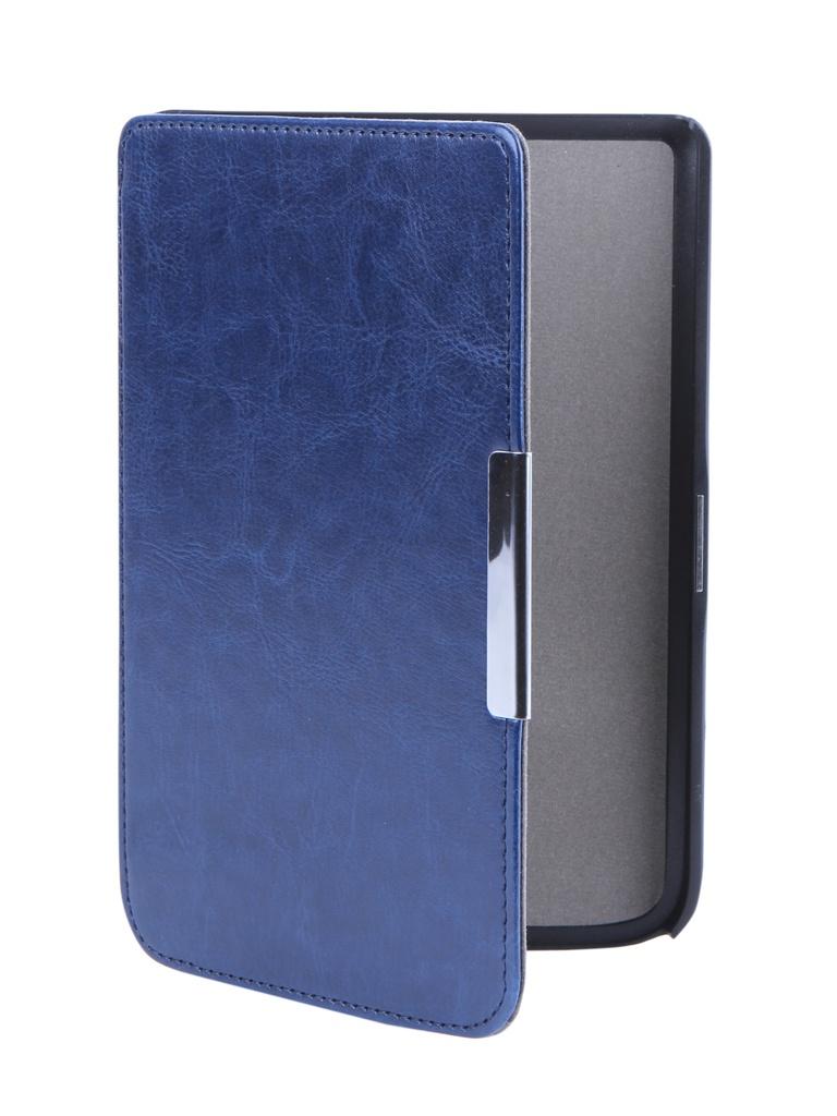 Аксессуар Чехол BookCase для PocketBook Touch 614/624/626 Slim Dark Blue BC-626-DBLU membrane switch for 6es7626 1cg02 0ae3 6es7 626 1cg02 0ae3 6es7626 1dg02 0ae3 6es7 626 1dg02 0ae3 c7 626