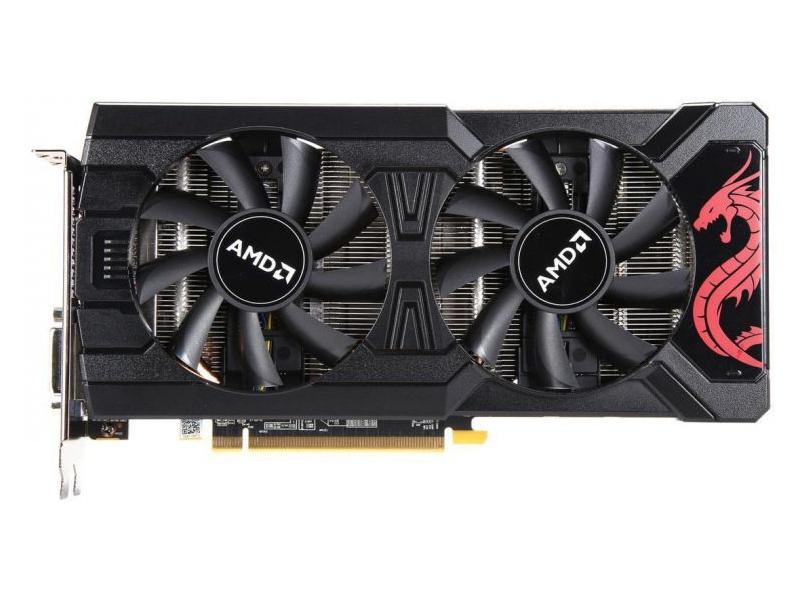 Видеокарта PowerColor Radeon RX 570 1105Mhz PCI-E 3.0 8192Mb 7800Mhz 256 bit DL DVI-D HDMI DP AXRX 8GBD5-DHDM