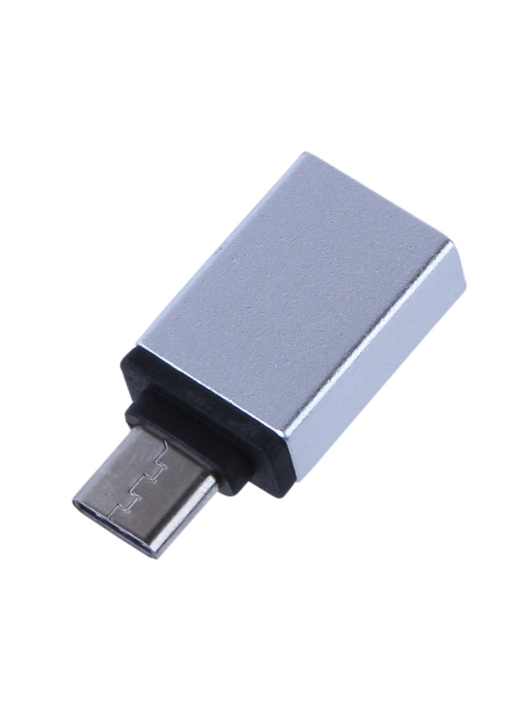Аксессуар Activ Adapter USB Type-C M - F Silver 85269