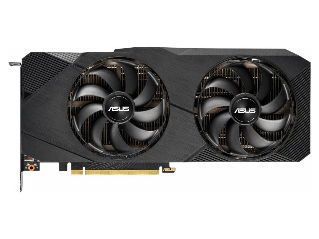 Видеокарта ASUS GeForce RTX 2080 Dual EVO 1515Mhz PCI-E 3.0 8192Mb 14000Mhz 256 bit 3xDP USB-C HDMI DUAL-RTX2080S-O8G-EVO