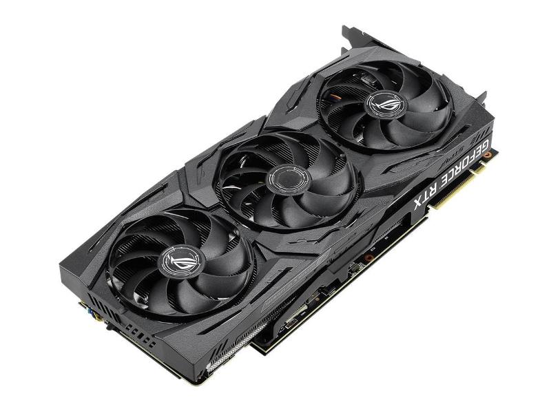 Видеокарта ASUS GeForce RTX 2080 Super 1605Mhz PCI-E 3.0 8192Mb 15500Mhz 256 bit USB-C DP HDMI ROG-STRIX-RTX2080S-A8G-GAMING