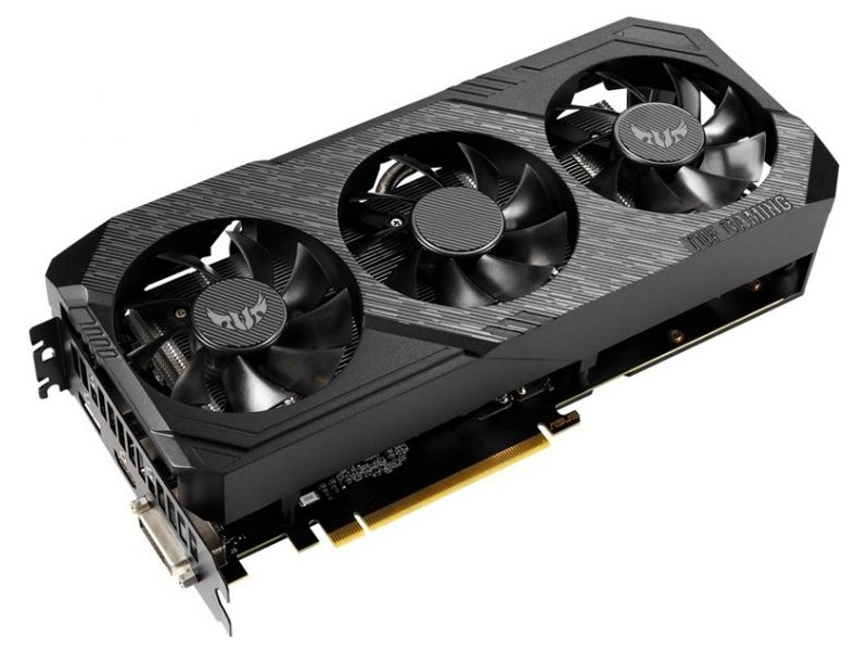 Видеокарта ASUS TUF Gaming X3 GTX 1660 OC 1500Mhz PCI-E 3.0 6144Mb 8002Mhz 192 bit DP HDMI DVI TUF3-GTX1660-O6G-GAMING