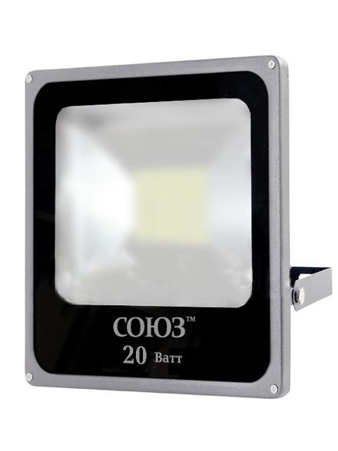 Прожектор UNIVersal Союз 20W 6500К-IP65-SMD 132