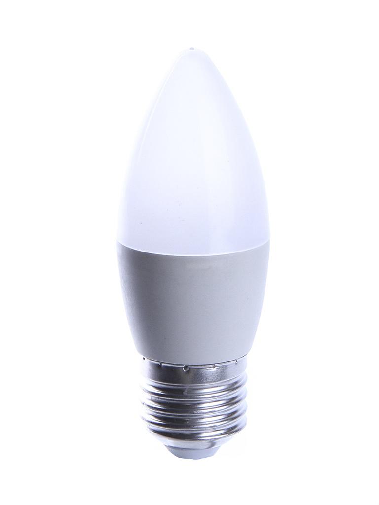 Лампочка UNIVersal Союз Свеча C37 E27 6W 220V 2700K 500Lm Warm Light 1091