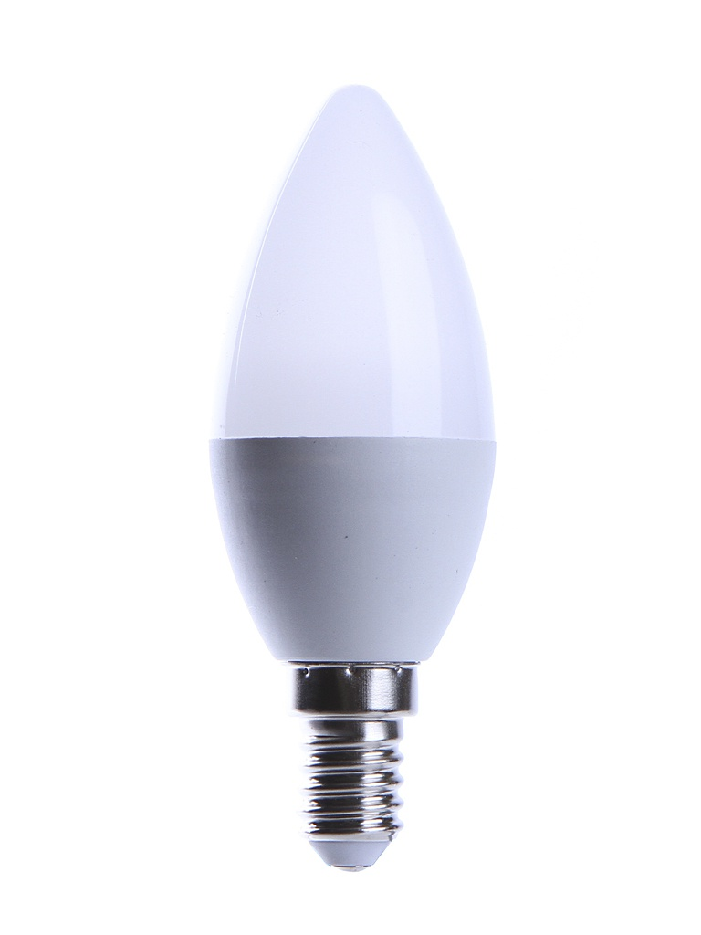 Лампочка UNIVersal Союз Свеча C37 E14 6W 220V 2700K 500Lm Warm Light 1090