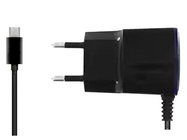 Зарядное устройство Krutoff CH-23 microUSB 1.1A Black 02118
