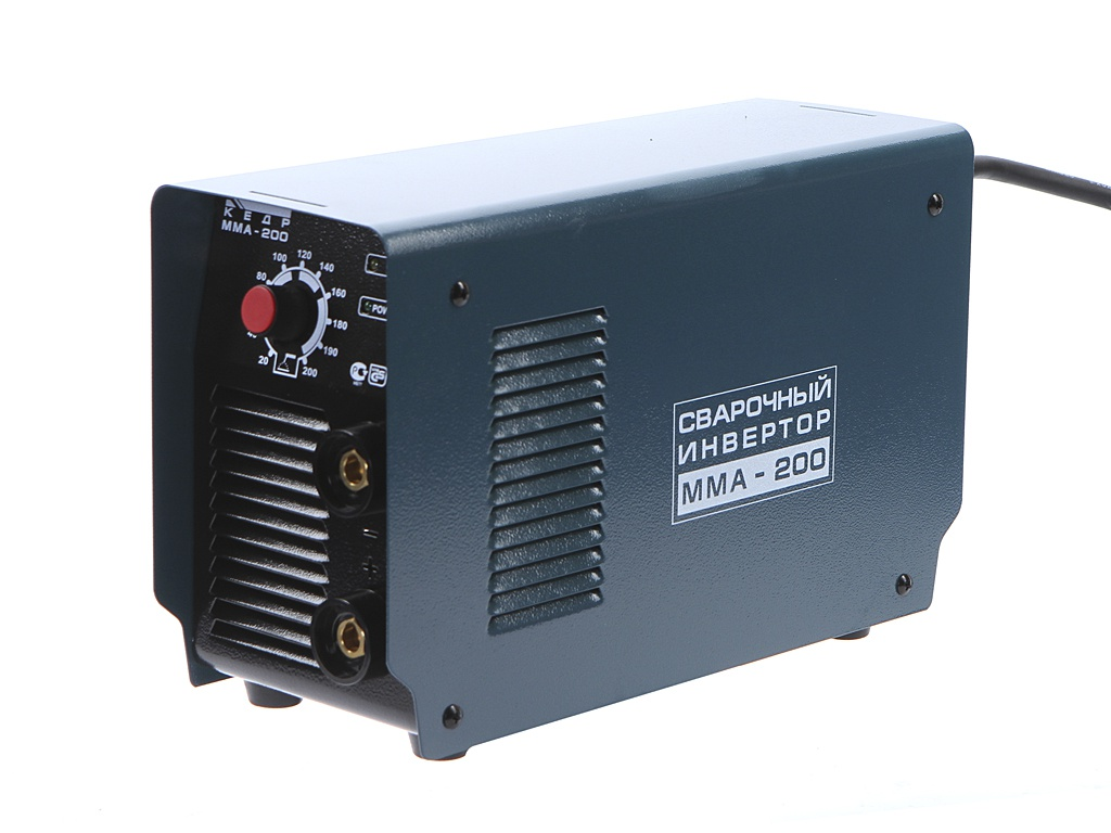 Сварочный аппарат Кедр UltraMMA-200 с кейсом