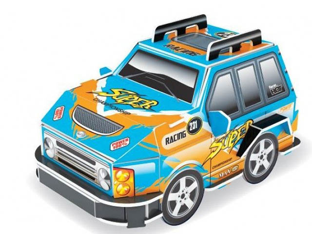 3D-пазл Pilotage Машина S Blue RC39890