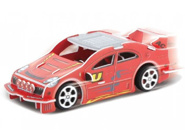 3D-пазл Pilotage Спортивная машина Red RC39881