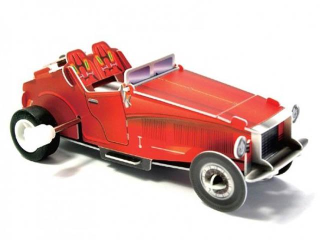 3D-пазл Pilotage Машина классическая Red RC39697