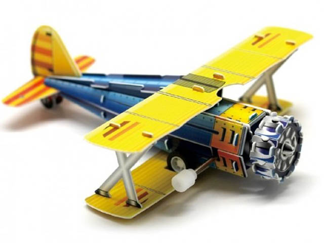 3D-пазл Pilotage Самолет Classic Fighter RC39689