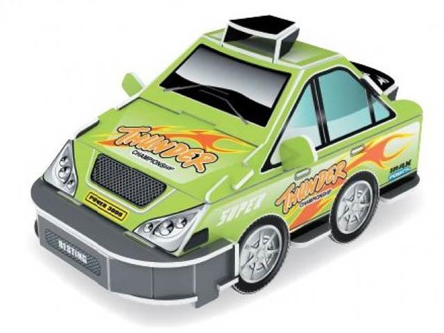 3D-пазл Pilotage Машина Green RC38109