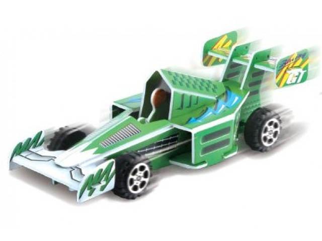 3D-пазл Pilotage Гоночная машина Green RC38107