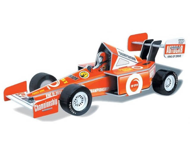 3D-пазл Pilotage Спортивная машина M Orange RC38105