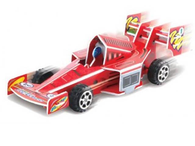 3D-пазл Pilotage Гоночная машина Red RC38101