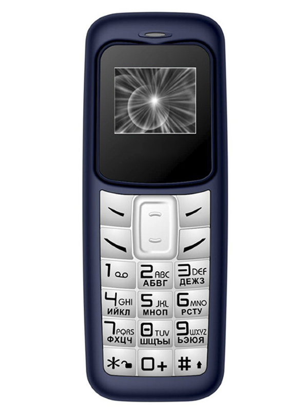 Сотовый телефон Olmio А02 Blue-White 39375