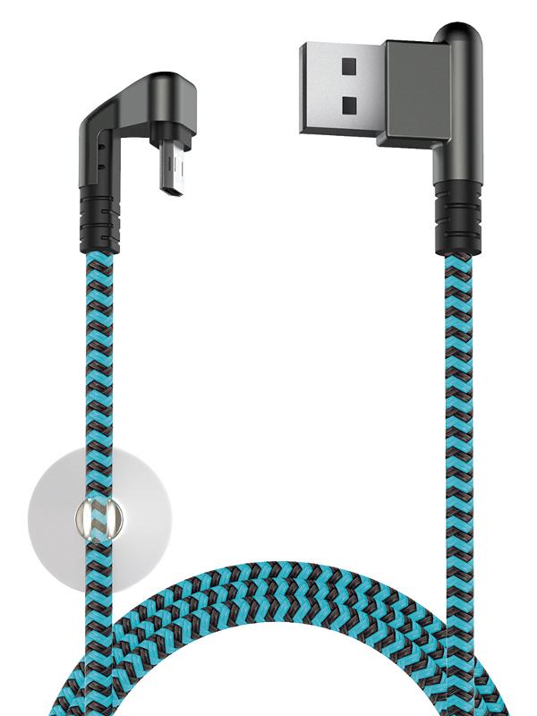 Аксессуар Olmio X-Game Neo USB 2.0 - microUSB 1.2м 2.1A 38906 все цены
