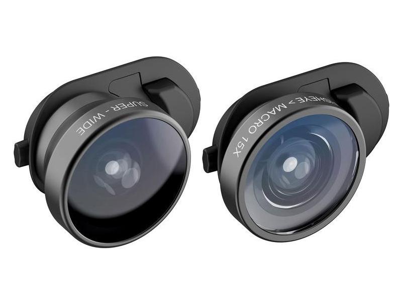 Аксессуар Набор линз для APPLE iPhone XR Olloclip Fisheye + Super-Wide Macro OC-0000297-EU