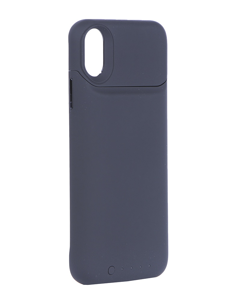 Аксессуар Чехол-аккумулятор для APPLE iPhone X Mophie Juice Pack Air 1700mAh Black 401002005