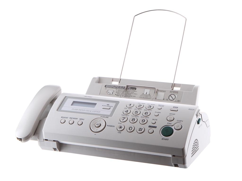 Факс Panasonic KX-FP207RU цена и фото