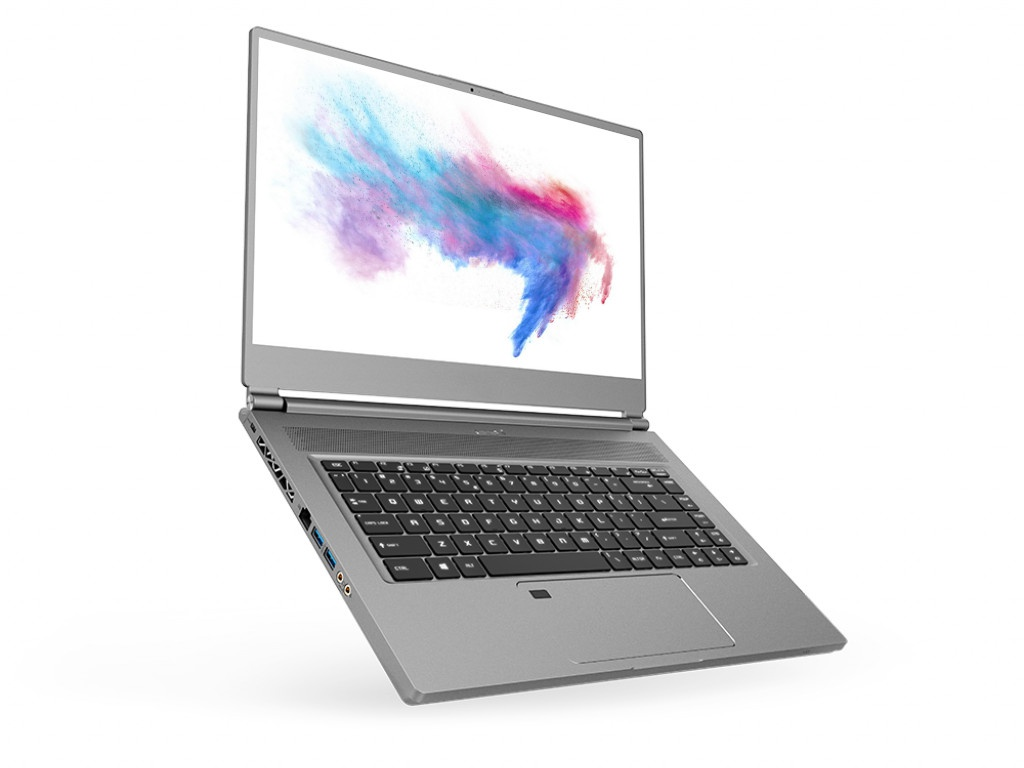 Ноутбук MSI P65 Creator 9SD-1001RU Silver 9S7-16Q412-1001 (Intel Core i7-9750H 2.6 GHz/16384Mb/512Gb SSD/GeForce GTX 1660Ti 6144Mb/Wi-Fi/Bluetooth/Cam/15.6/1920x1080/Windows 10 Home 64-bit)
