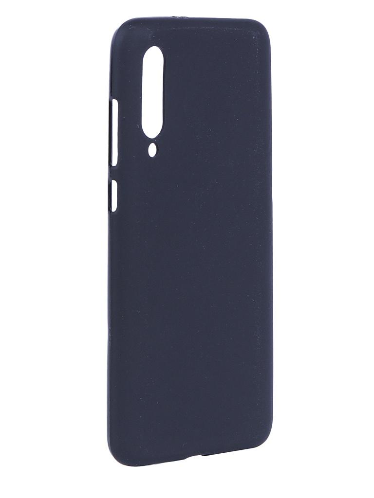 Аксессуар Чехол Svekla для Xiaomi Mi9 Silicone Black SV-XIMI9-MBL