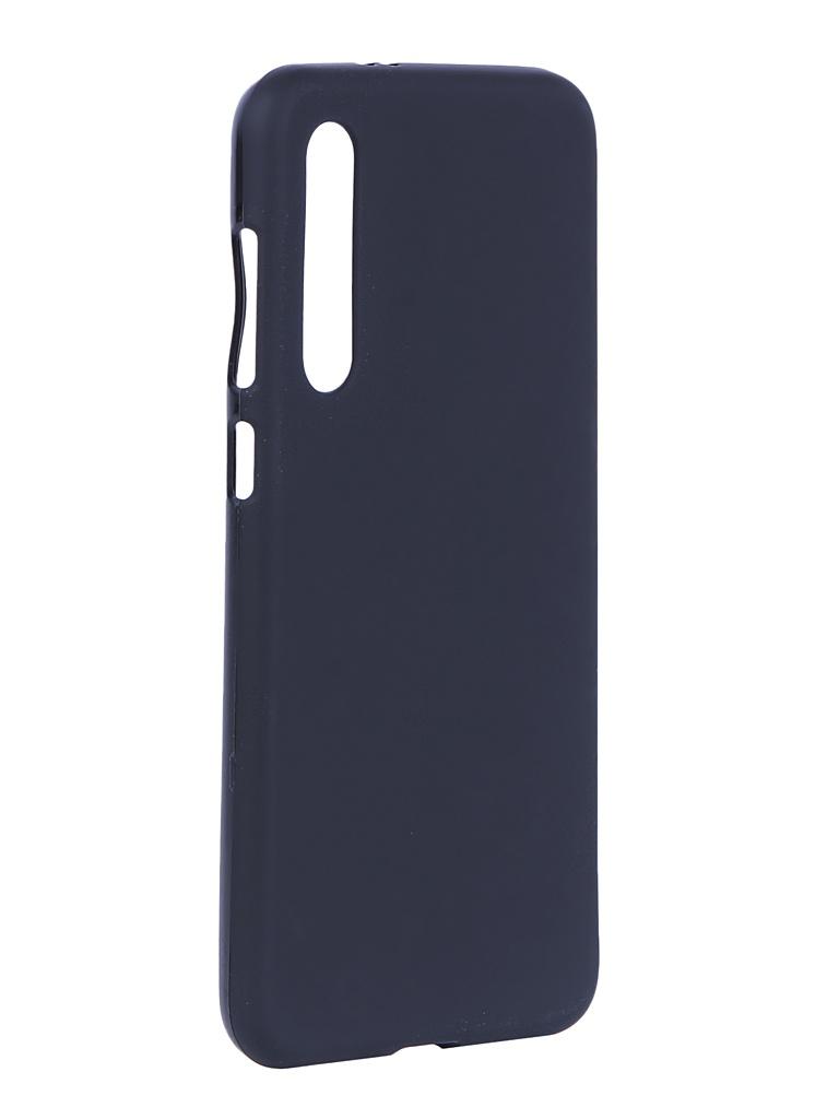 Аксессуар Чехол Svekla для Xiaomi Mi9 SE Silicone Black SV-XIMI9SE-MBL