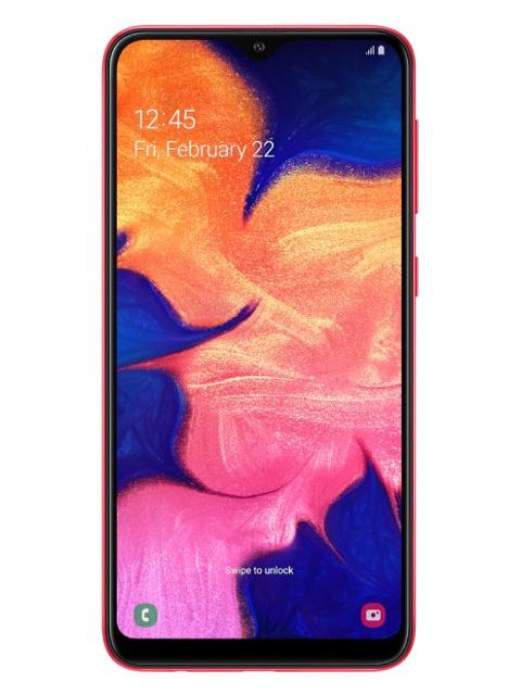 Сотовый телефон Samsung SM-A105F Galaxy A10 Red & Wireless Headphones Выгодный набор + серт. 200Р!!!