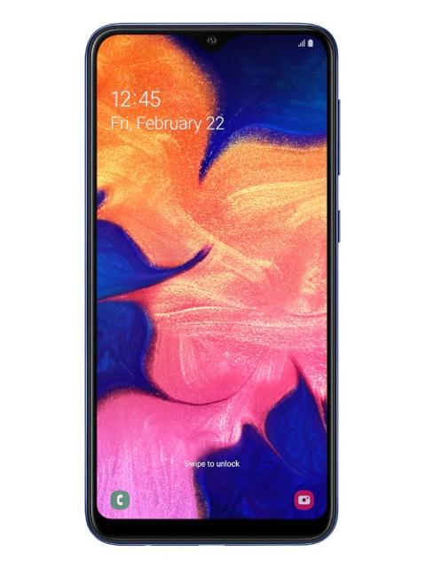 Сотовый телефон Samsung SM-A105F Galaxy A10 Blue & Wireless Headphones Выгодный набор + серт. 200Р!!!