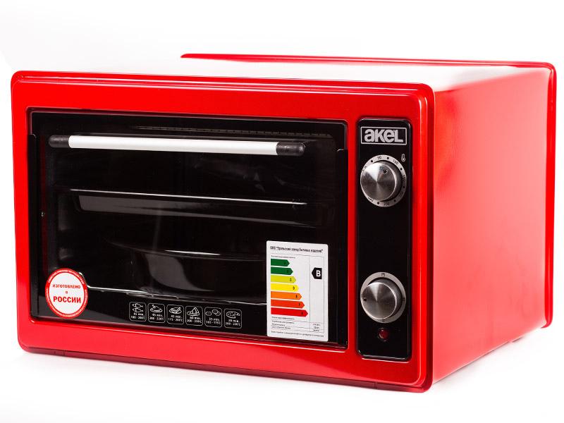 Мини печь Akel AF-720 Red